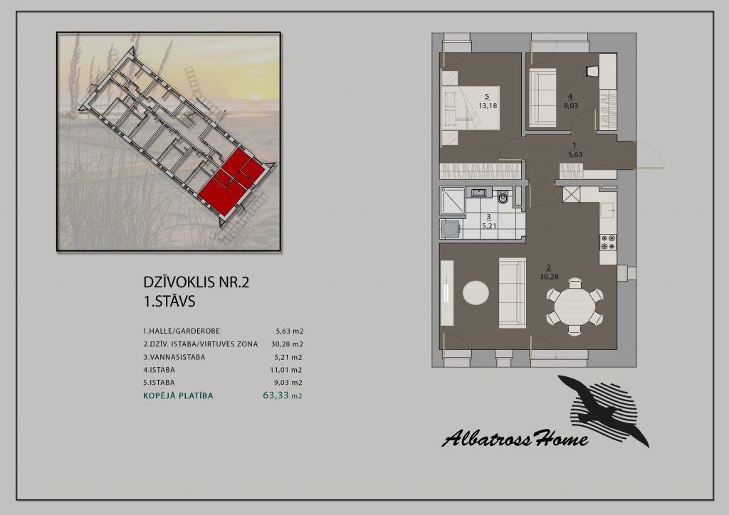 Albatross Home #12 Plāns