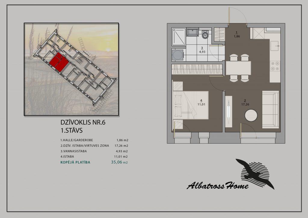 Albatross Home #5 Plāns