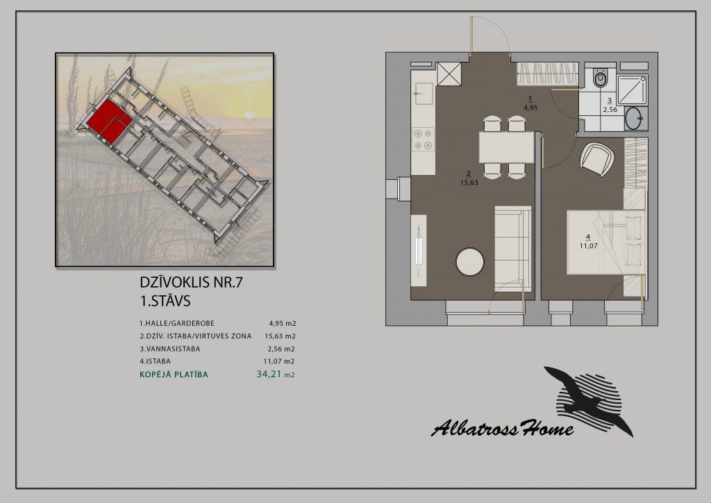 Albatross Home #7 Plāns