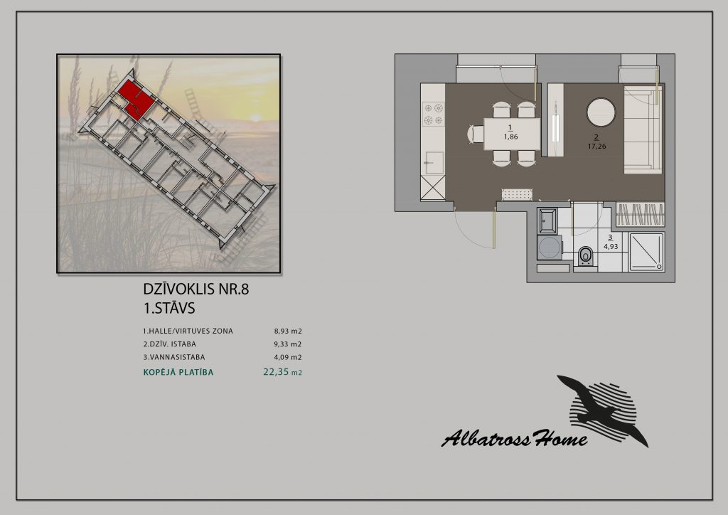 Albatross Home #9 Plāns